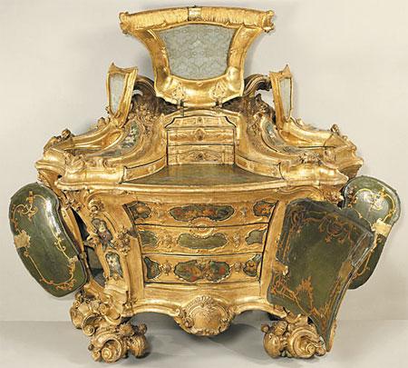 Італійські класичні меблі  в стилі рококо